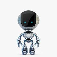 3D fun bot digital toy