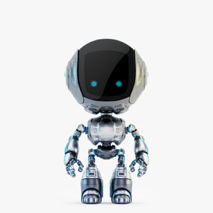 3D fun bot digital toy