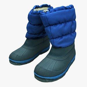 3D scan boots
