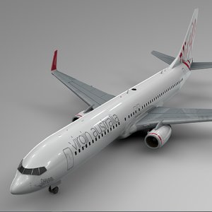 3D virgin australia boeing 737-800