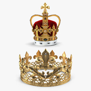 crown st edwards 3D model