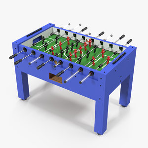 foosball table generic ball 3D