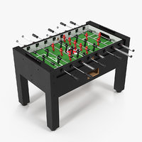 3D warrior table soccer pro