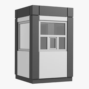security booth model