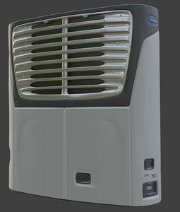 carrier x4 7500 3D model