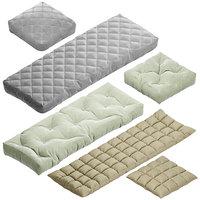 Seat pillow set 5