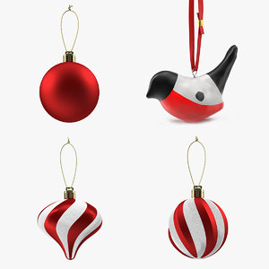 3D christmas decoration toy