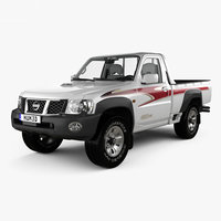 3D nissan patrol 2016 model
