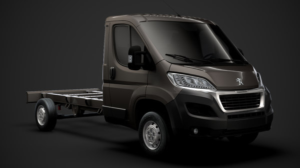 peugeot boxer chassis 2020 3D
