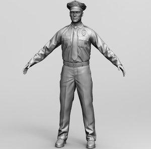police officer model