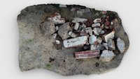 rubble pile debris 3D model