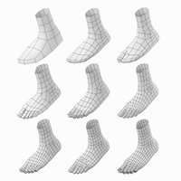 Foot Base Mesh Kit