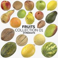 fruits 01 - 37 3D model