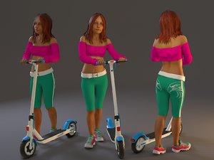 female street bcc 2130 3D model