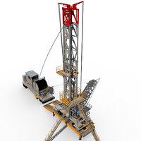 Mobile oil rig