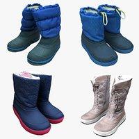 scan shoe boots 3D