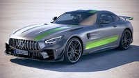 Mercedes AMG GT-R PRO 2020 VRAY