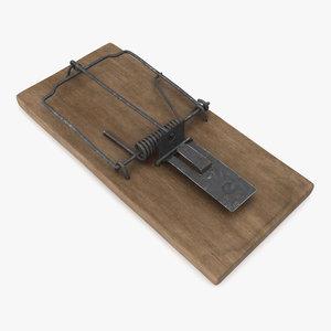 3D mouse trap aged
