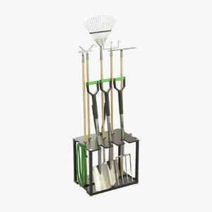 garden tools model