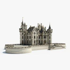 ancient mansion model
