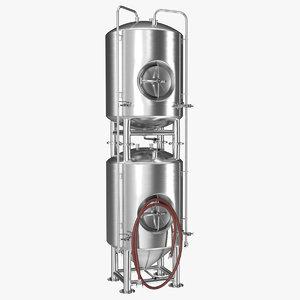 beer fermentation tank 3D model