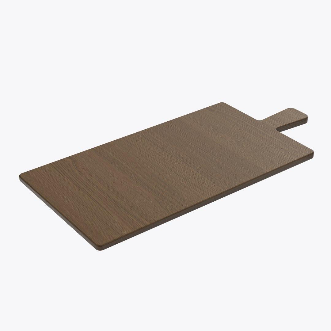 Cutting Board Wooden 3D Model
