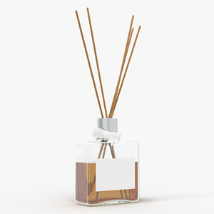 bottle air stick 3D model