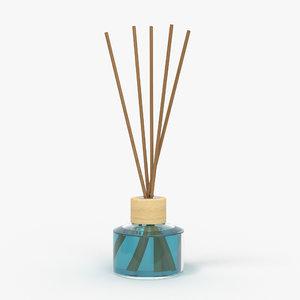 3D bottle air stick model