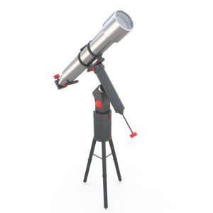 3D model telescope astronomy