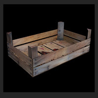 Wooden Fruit Crate