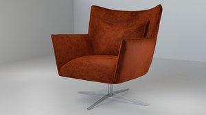 3D jacob swivel chair model