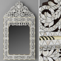 Hand carved inlay mirror1