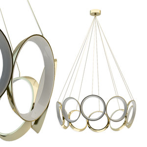chandelier filament lighting ch94824-an 3D model