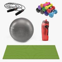 3D fitness equipment
