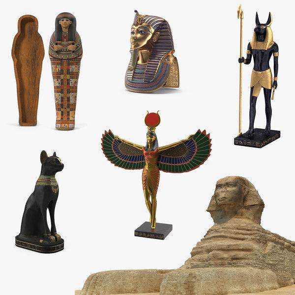 egypt 4 3D model