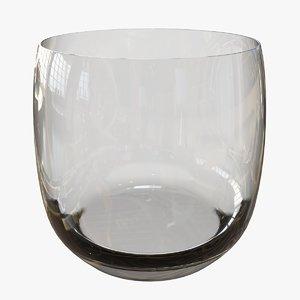 whiskey tumbler 3D