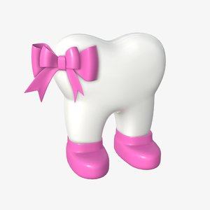 3D missis tooth model