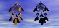 Dream-Catcher with 2 Materials