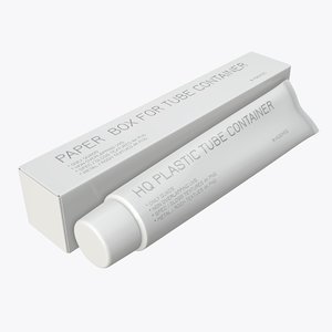 3D toothpaste box paste