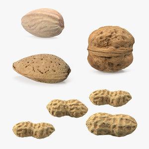 3D nuts 5 model