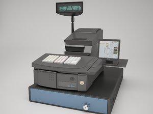 inter cash register 3D