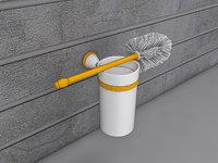 brush holder toilet model