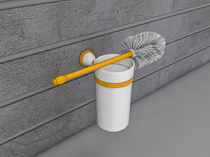 brush holder toilet model