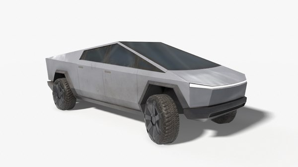 3D ready tesla cybertruck