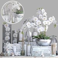 decor set orchid model