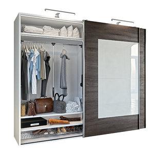 wardrobe clothes 3D model