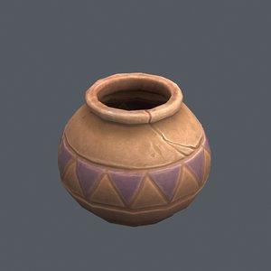 3D cartoon jug