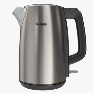 philips kettle 3D