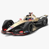 3D ds techeetah formula e
