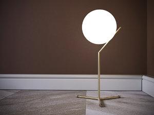 light ic table 3D model